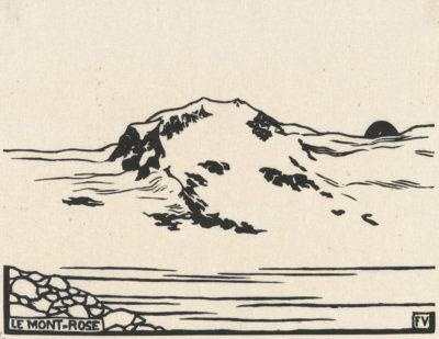 Félix Vallotton Mont Rose (Le Mont-Rose)