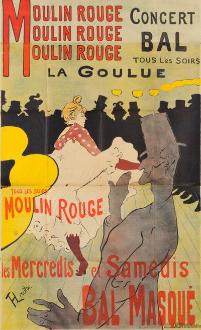 Henri de Toulouse-Lautrec Moulin Rouge