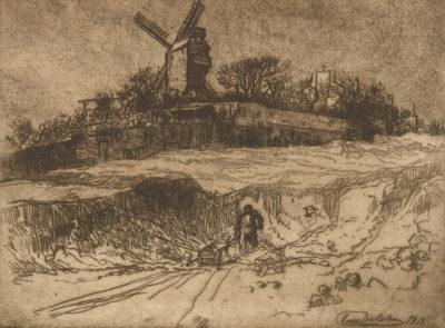 Eugène Delâtre Moulin de la Galette