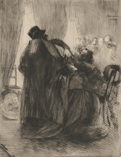 Albert Besnard Mourning (Le deuil)