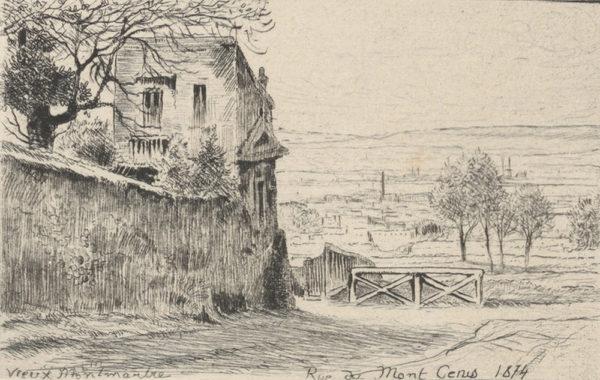 Eugène Delâtre Old Montmartre