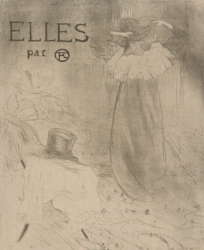 Henri de Toulouse-Lautrec Cover for the series Elles