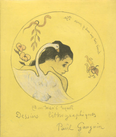 Paul Gauguin Cover for the series Volpini