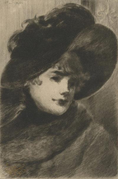 Henry Somm Parisian Woman (Parisienne)