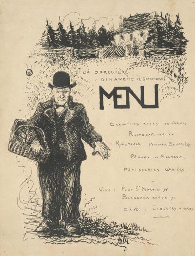 Jean-Emile Laboureur Peasant with a Basket (Paysan au panier)