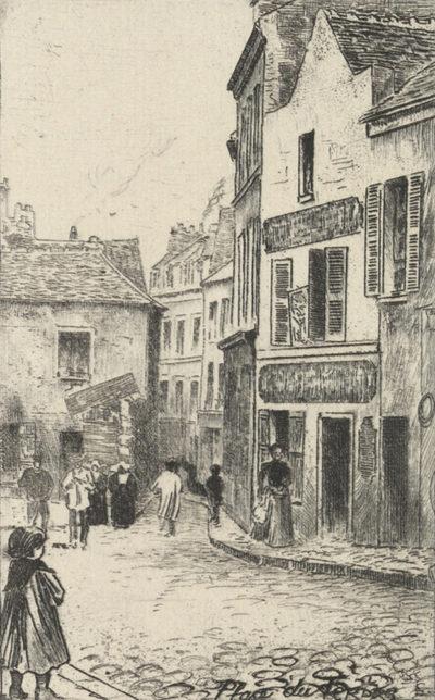 Eugène Delâtre Place du Tertre