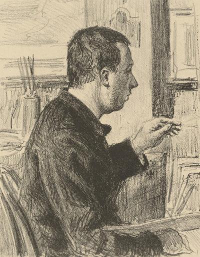 Maximilien Luce Portrait of Signac