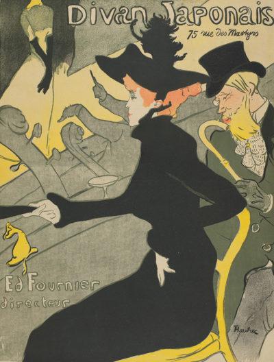 Henri de Toulouse-Lautrec Poster for the Café-concert Le Divan Japonais