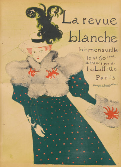 Henri de Toulouse-Lautrec Poster for the journal La Revue blanche