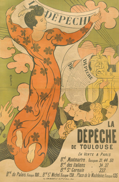 Maurice Denis Poster for the newspaper La Dépêche de Toulouse