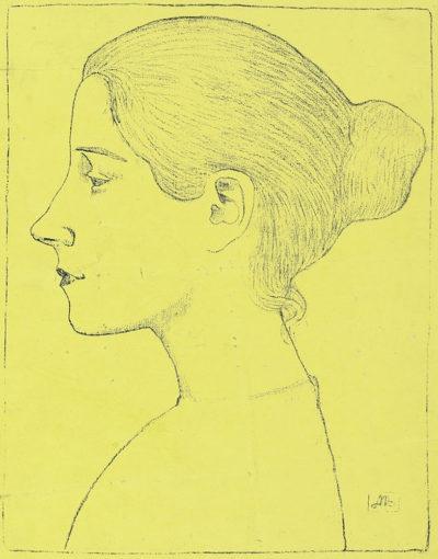 Aristide Maillol Profile of a Young Girl (Profil de jeune fille)