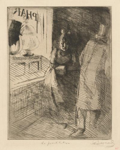 Albert Besnard Prostitution (La prostitution)