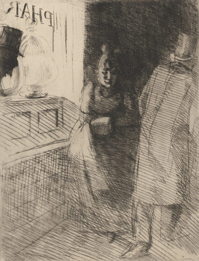 Albert Besnard Prostitution (La prostitution) from the series La Femme