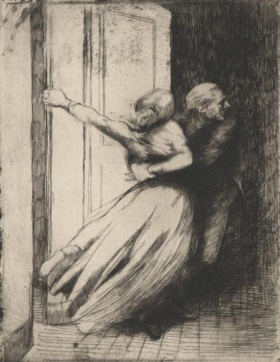 Albert Besnard Rape (Le viol)
