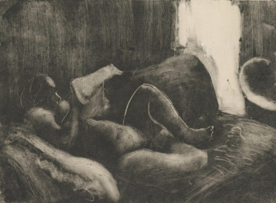 Edgar Degas Reading after the Bath (La toilette