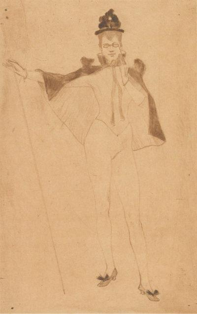 Armand Rassenfosse Chorus Girl