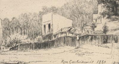 Eugène Delâtre Rue Caulaincourt