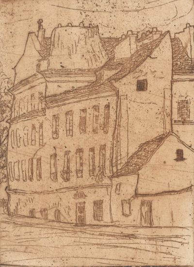 Henri Evenepoel Rue Desgenettes