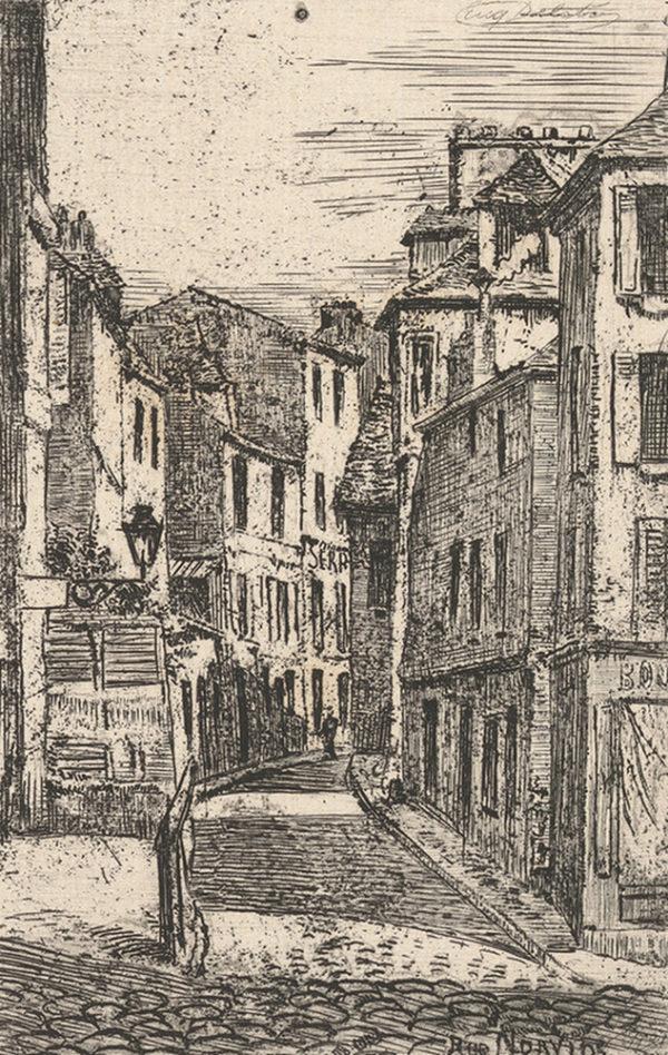 Eugène Delâtre Rue Norvins
