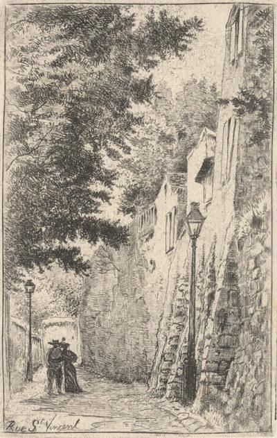 Eugène Delâtre Rue Saint-Vincent