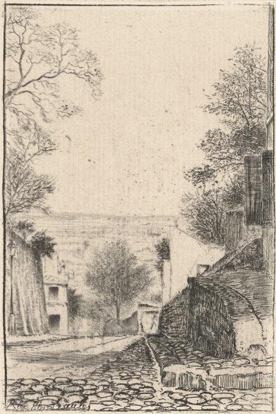 Eugène Delâtre Rue des Saules