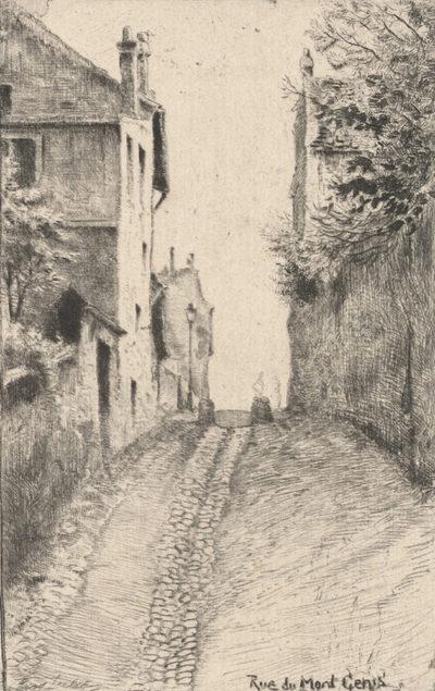 Eugène Delâtre Rue du Mont Cenis