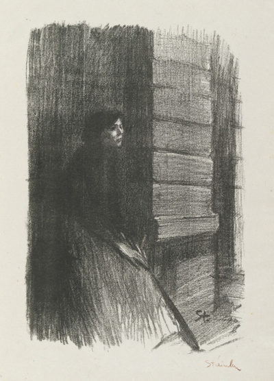 Théophile Alexandre Steinlen Sad Woman (Femme triste)