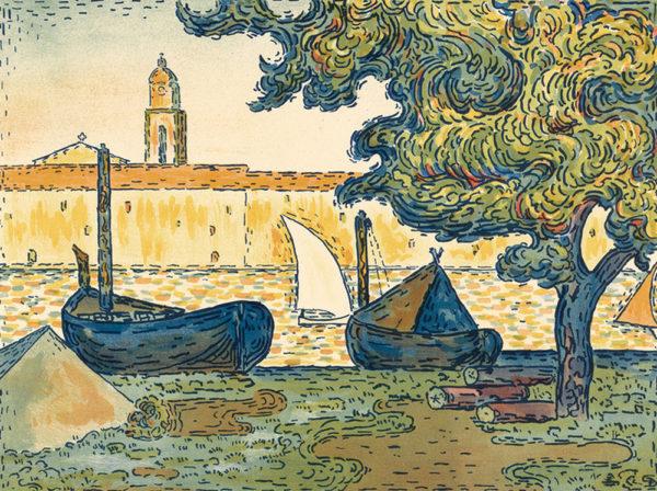 Paul Signac Saint-Tropez
