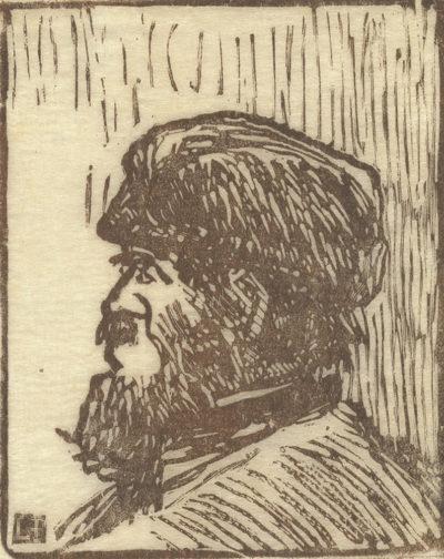 Félicien Rops Sketch (Croquis)