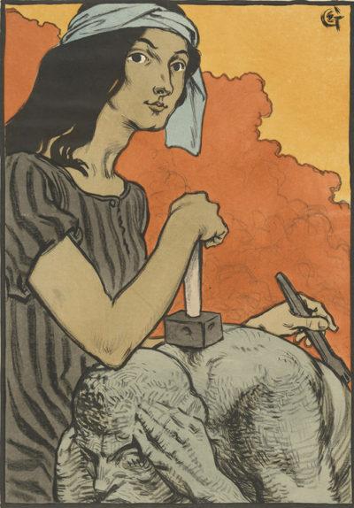 Eugène Grasset Sculpture (La sculpture)