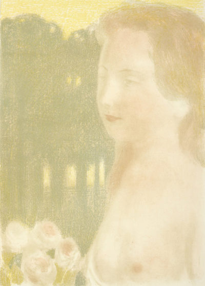 Maurice Denis She was more Beautiful than Dreams (Elle était plus belle que les rêves)