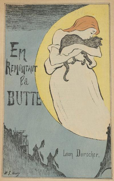 Henri Gabriel Ibels Sheet Music En remontant la Butte by Léon Durocher