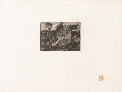 Armand Séguin Small Landscape (Petit paysage)