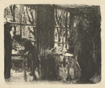 Edouard Vuillard Studio with Two Windows (L'atelier aux deux fenêtres)