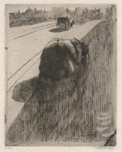 Albert Besnard Suicide (Le suicide)