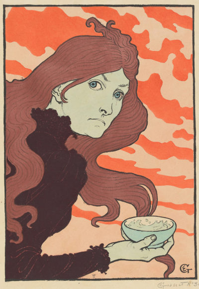 Eugène Grasset The Acid Thrower (Vitrioleuse)