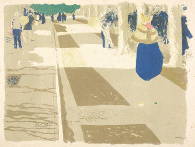 Edouard Vuillard The Avenue (L'avenue)