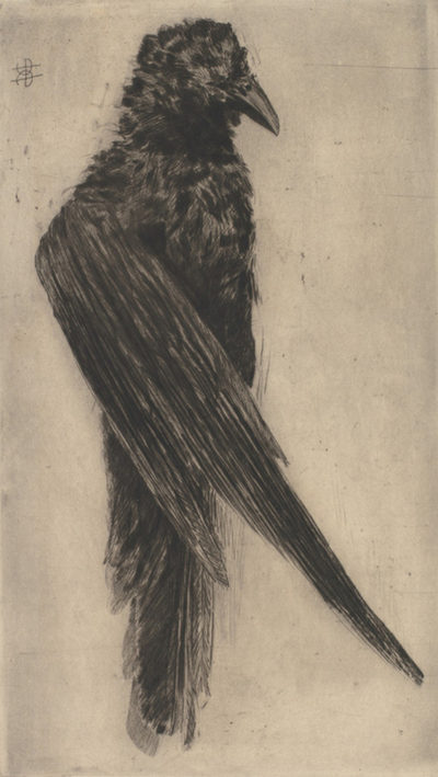 Henri Charles Guérard The Big Crow