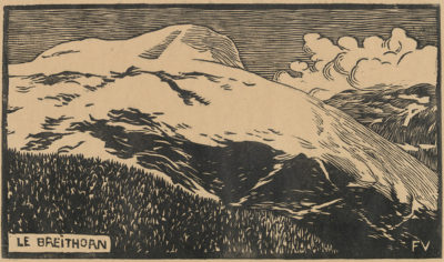 Félix Vallotton The Breithorn (Le Breithorn)