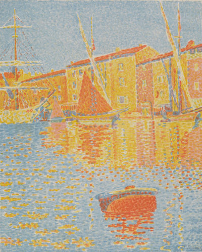 Paul Signac The Buoy (Saint-Tropez