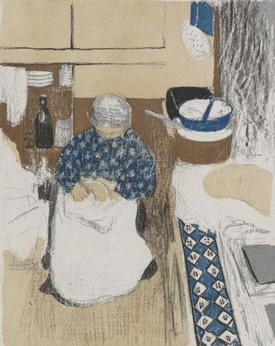 Edouard Vuillard The Cook (La cuisinière)