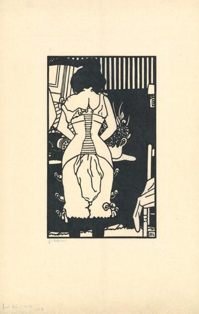 Jean-Emile Laboureur The Corset (Le corset)