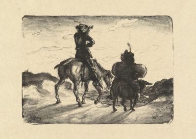 Louis Anquetin The Horseman and the Beggar (Le cavalier et le mendiant)