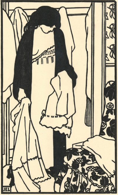 Jean-Emile Laboureur The Laundry (Le linge)