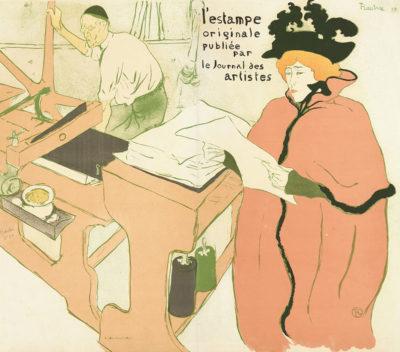 Henri de Toulouse-Lautrec The Lithography