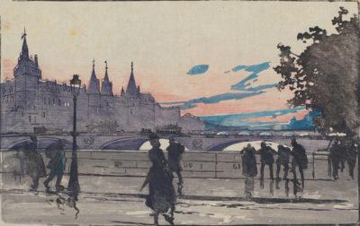 Auguste Lepère The Palais de Justice