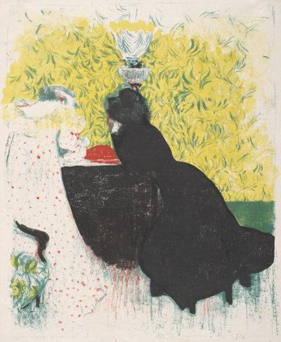 Edouard Vuillard The Two Sisters-in-Law (Les deux belles-soeurs)