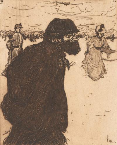 Henri Evenepoel Tramp (Le vagabond)