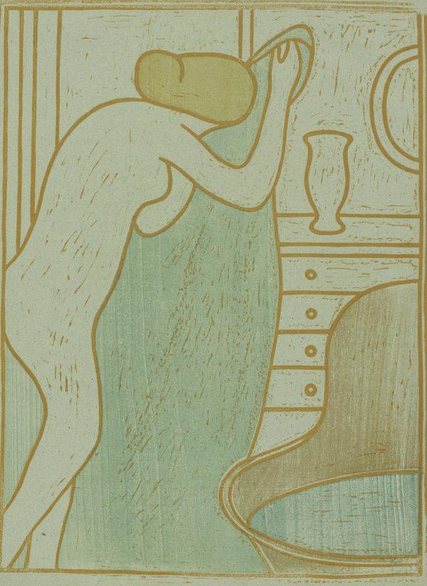 James Pitcairn-Knowles Trial proof of The Bath (Le bain) from the album L'Album des peintres-graveurs