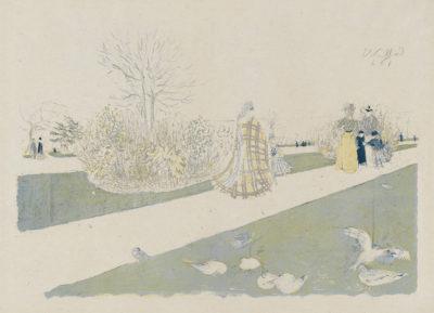 Edouard Vuillard Tuileries Garden (Le Jardin des Tuileries)